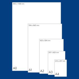 Der Plakatlichträger für alle Größen mit Beleuchtung in verschiedenen Farben- Poster Flat