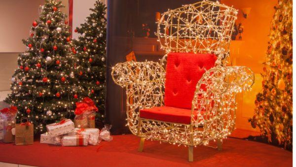 Weihnachtsmann Sessel